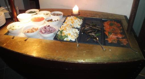 Fish buffet at Sundmans Krog