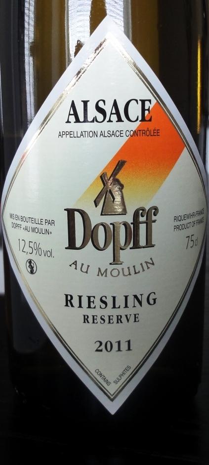 Dopff Reisling Reserve