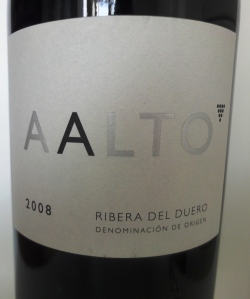 Aalto wine label