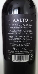 Aalto red wine