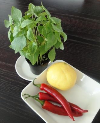 Citron and chili