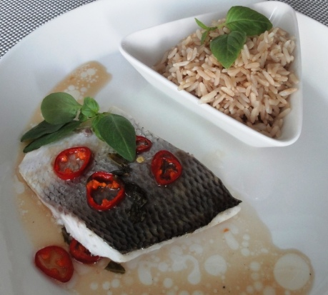 Whitefish and rice
