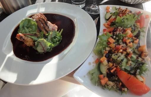 BBQ House salad