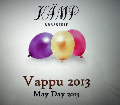 Vappu at Brasserie Kämp