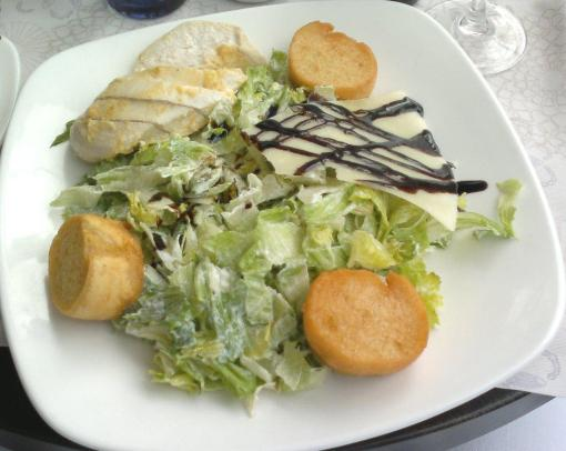 Caesar salad at Kappeli - reijosfood.com