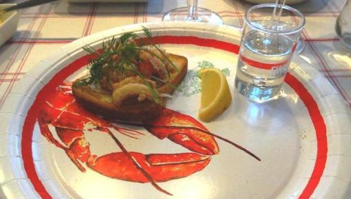 Crayfish with Finlandia vodka - reijosfood.com