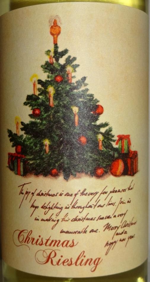 Christmas Riesling - reijosfood.com