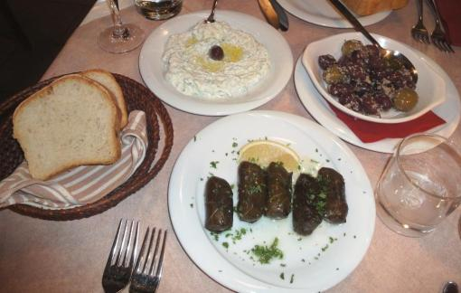 Starters at Minos - reijosfood.com