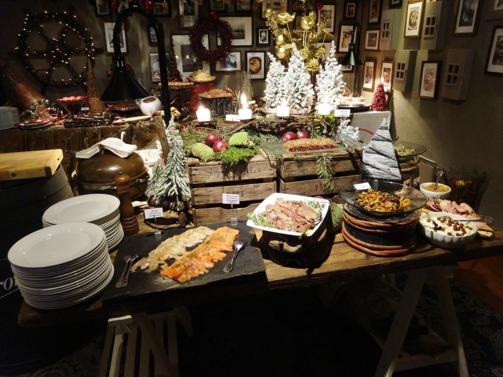 Restaurant review pirate helsinki christmas buffet