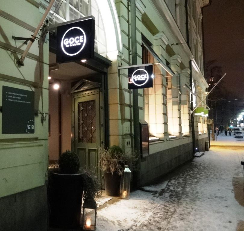 Goce Bar Kitchen Helsinki