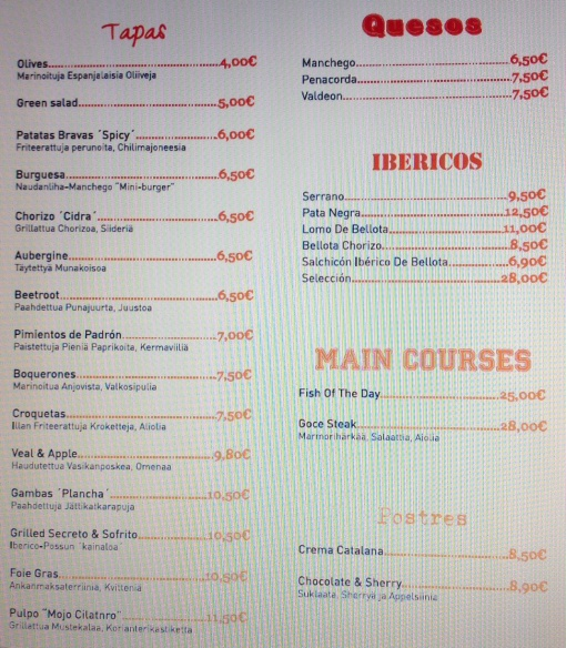 Goce menu - reijosfood.com