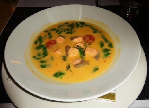 Thai-salmon soup - reijosfood.com
