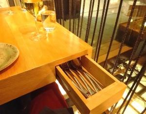 Cutlery at Yume - reijosfood.com
