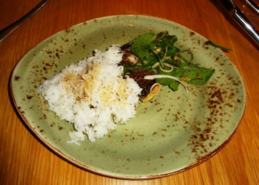 Whitefis and rice at Yume - reijosfood.com