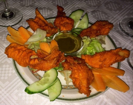 Fried chicken at Lumbini - reijosfood.com