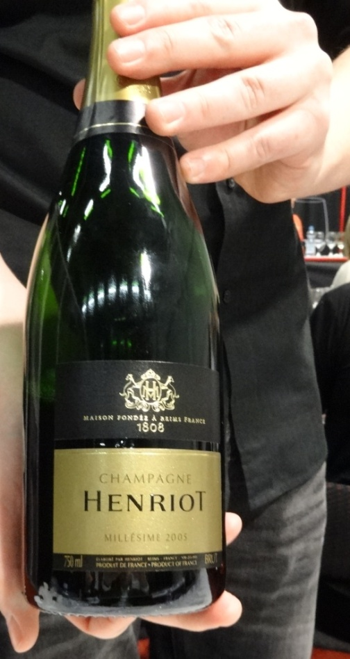 Henriot Millesime 2005 - reijosfood.com