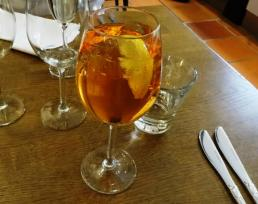 Aperol Spritz at Presto - reijosfood.com