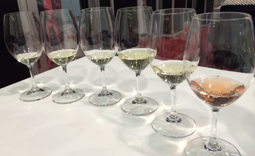 Champagne at Viini Expo - reijosfood.com