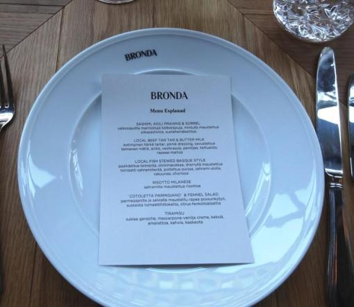 Tasting menu at Bronda - reijosfood.com
