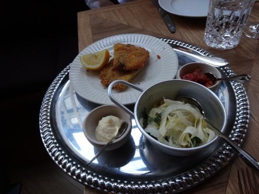 Wiener Schnitzel at Bronda - reijosfood.com