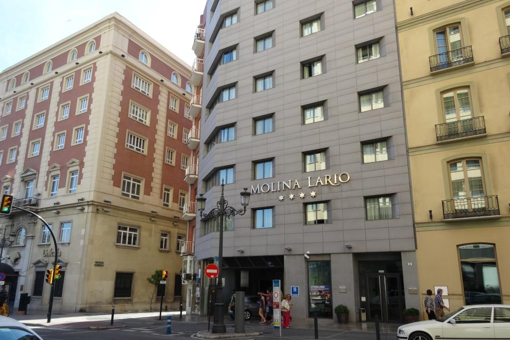 Hotel review molina lario malaga spain reijosfood for Hotels malaga