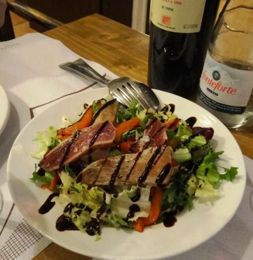Tuna fish salad at el Meson de Cervantes - reijosfood.com