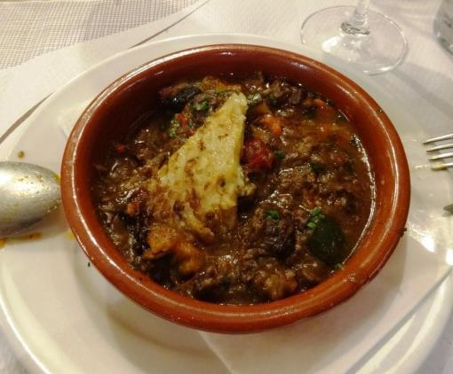 Wild board stew at el Meson de Cervantes - reijosfood.com
