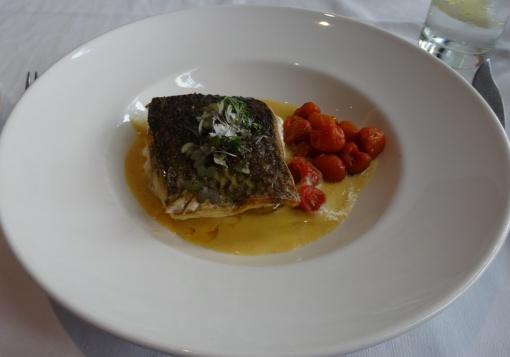 Sea bass at Cafe de Bolsa - reijosfood.com