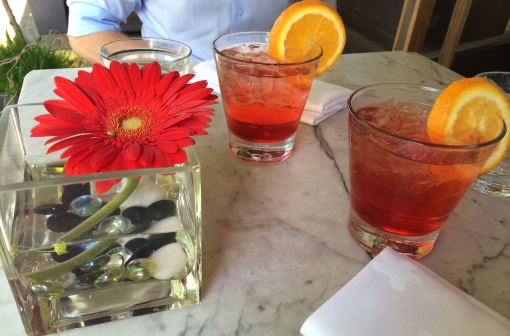 Campari Soda at Toscanini - reijosfood.com