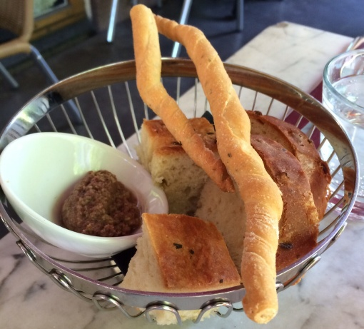 Bread basket at Toscanini - reijosfood.com