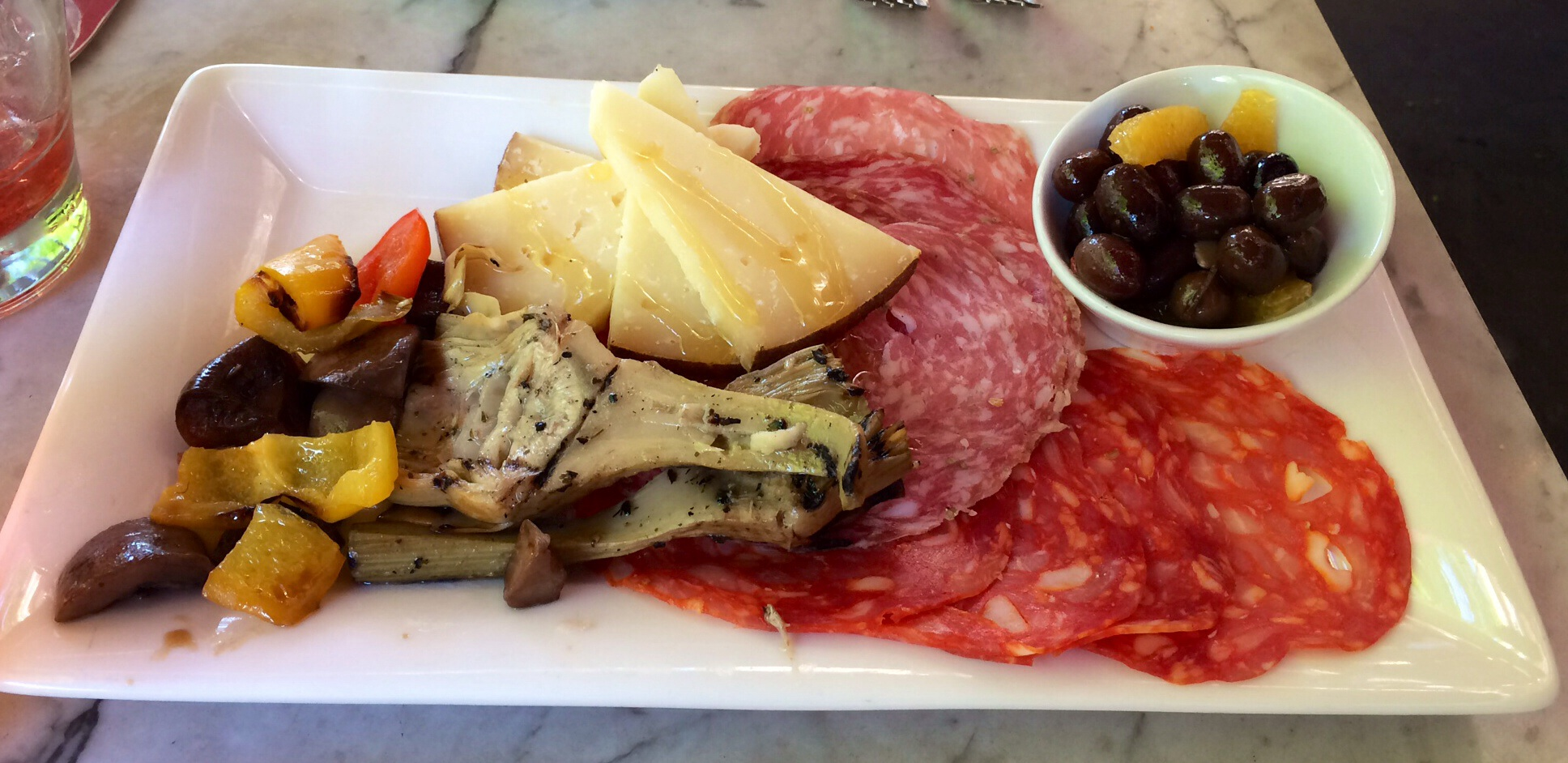 Antipasto at Toscanini