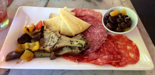 Antipasto at Toscanini - reijosfood.com