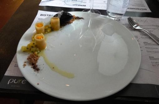 Fruit dessert at PureBistro - reijosfood.com