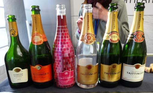 Taittiger champagnes at Taste of Helsinki - reijosfood.com