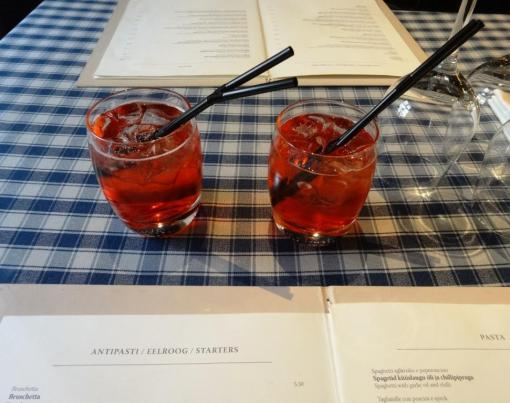 Campari Soda's at La Bottega - reijosfood.com