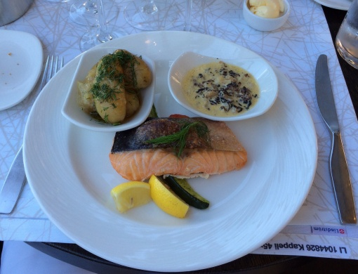 Smoked salmon at Kappeli - reijosfood.com