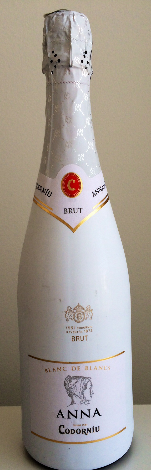 Wine review anna de codorniu brut blanc de blancs for Belle jardin blanc de blancs