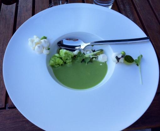 Cucumber soup at Faro - reijosfood.com