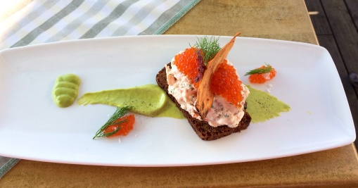 Toast Skagen at HSF - reijosfood.com