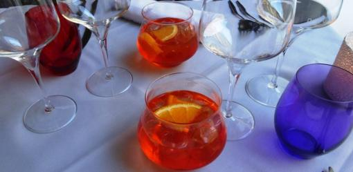 Aperol Spritz at Ragu - reijosfood.com