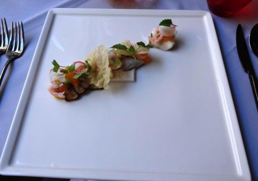 Fish starter at Ragu - reijosfood.com