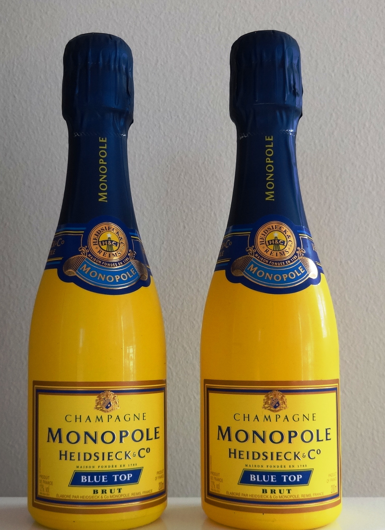 Charles Heidsieck Champagne Brut Blue Top Monopole