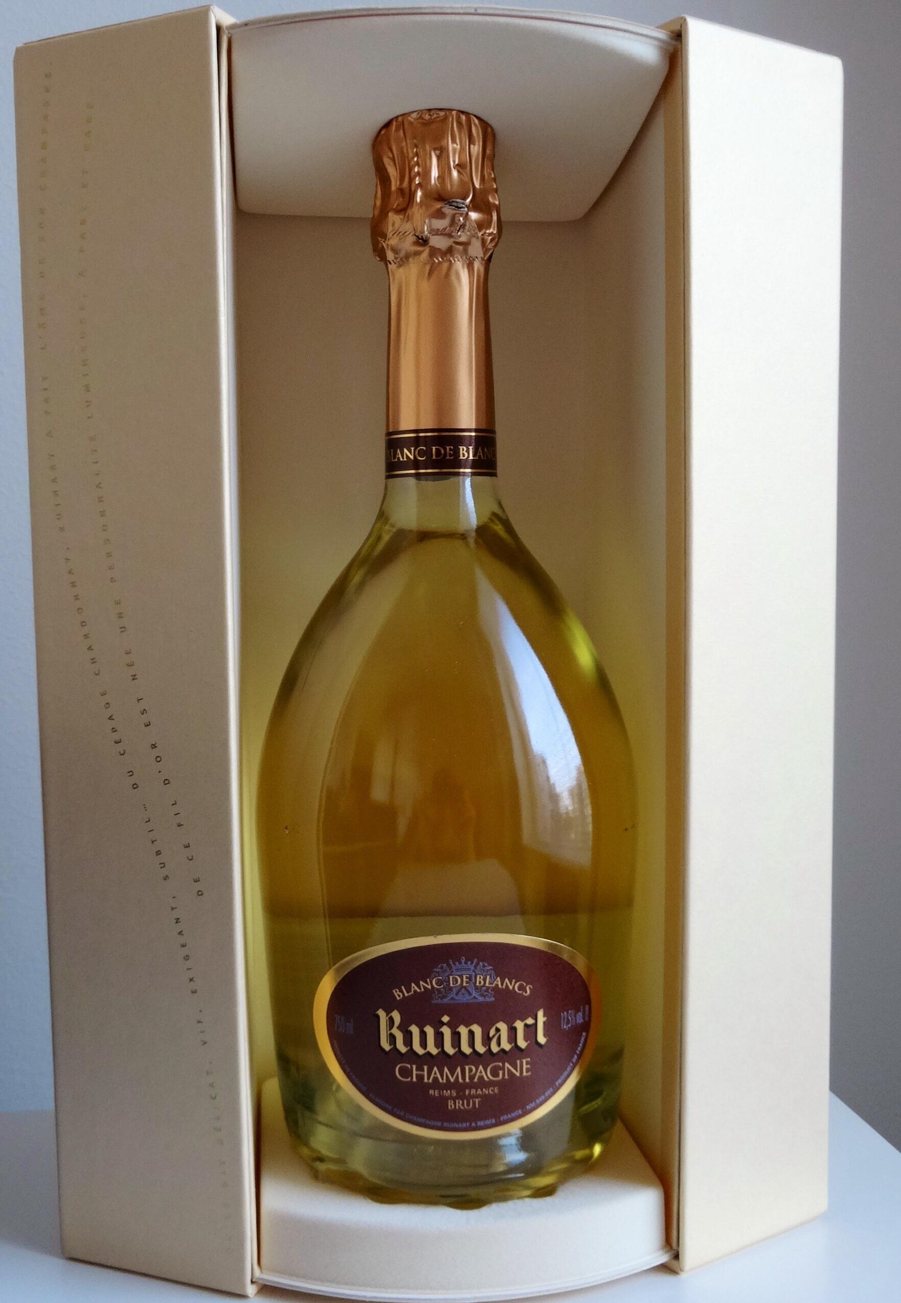 Champagne ruinart blanc de blancs reijosfood - Ruinart blanc de blanc nicolas ...