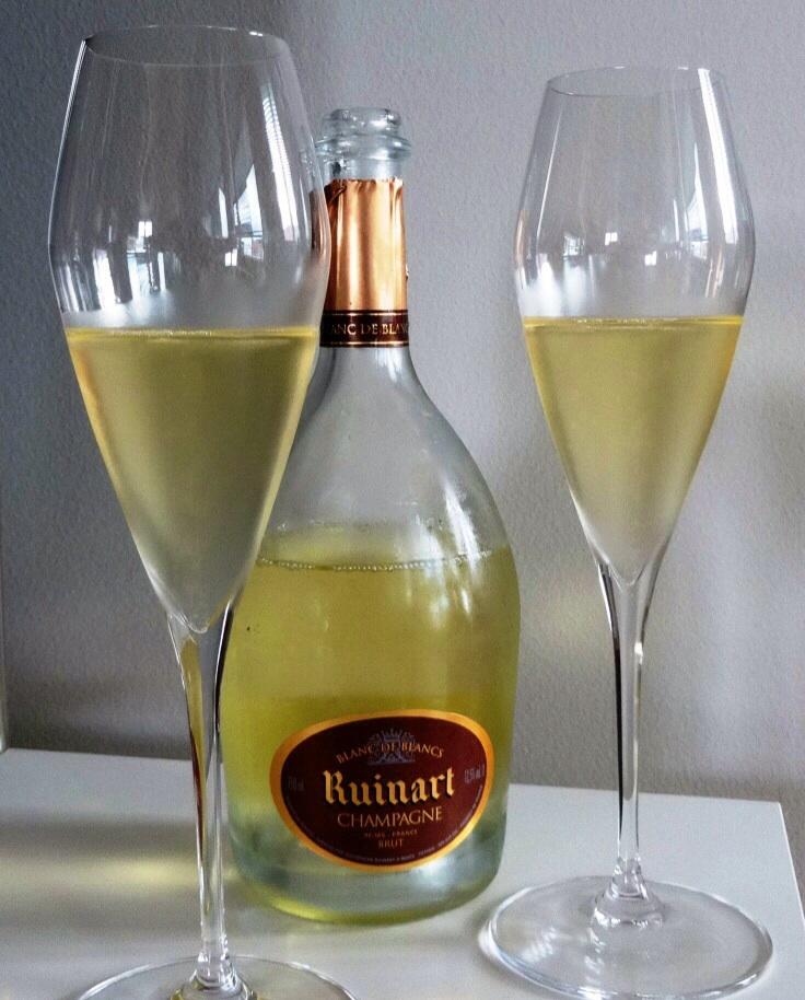 Wine review champagne ruinart blanc de blancs brut - Ruinart blanc de blanc nicolas ...