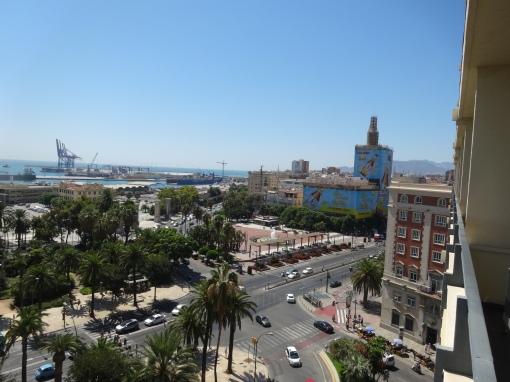 View from Ac Malaga Palacio - reijosfood.com