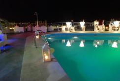 Rooftop pool at AC Malaga Palacio - reijosfood.com