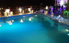 Pool at AC Malaga Palacio . reijosfood.com