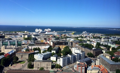 Room with a view at Swissotel Tallinn - reijosfood.com