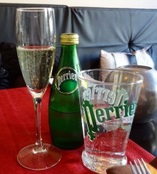 Perrier at Vino Mio - reijosfood.com
