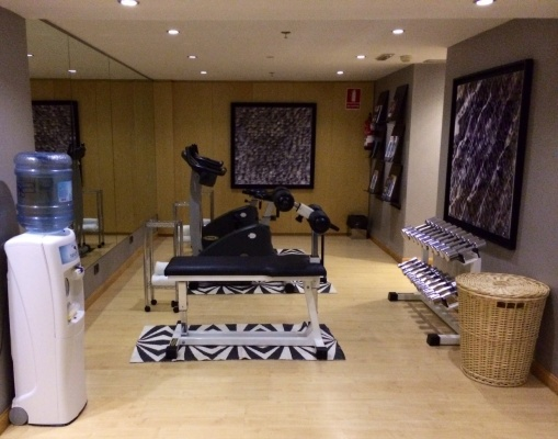Gym at AC Malaga Palacio - reijosfood.com